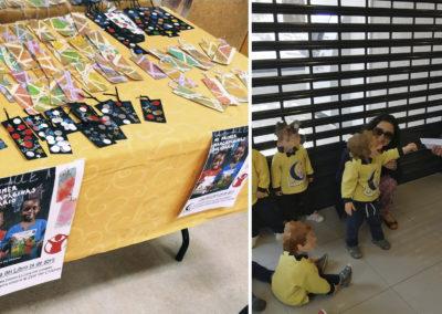 Marcapáginas solidario, dinero donado a Save the Children